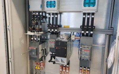 Exchanger end control panel EAC for LUKOMSKAYA PLANT