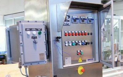 Control cabinets / switchboard / thyristor cabinets for Ex-p zone